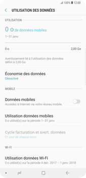 Samsung Galaxy S9 Plus - Internet - activer ou désactiver - Étape 7