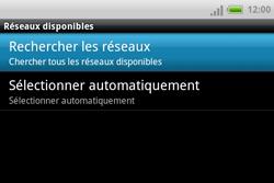 HTC A810e ChaCha - Réseau - utilisation à l'étranger - Étape 10