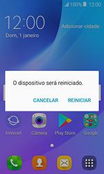 Samsung Galaxy J1 - Funções básicas - Como reiniciar o aparelho - Etapa 4