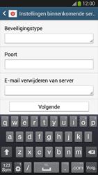 Samsung C105 Galaxy S IV Zoom LTE - E-mail - e-mail instellen: IMAP (aanbevolen) - Stap 9
