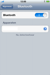 Apple iPhone 4S - Bluetooth - headset, carkit verbinding - Stap 6