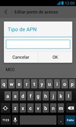 Huawei Y340 - Internet (APN) - Como configurar a internet do seu aparelho (APN Nextel) - Etapa 14