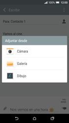 HTC One A9 - Mensajería - Escribir y enviar un mensaje multimedia - Paso 16