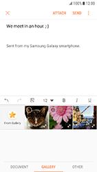 Samsung Galaxy Xcover 4 - E-mail - Sending emails - Step 12