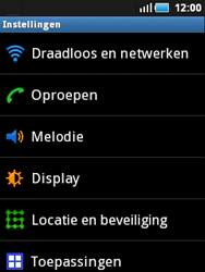 Samsung S5570 Galaxy Mini - Internet - aan- of uitzetten - Stap 4