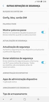 Samsung Galaxy Note 8 - Android Oreo - Segurança - Como ativar o código PIN do cartão de telemóvel -  6