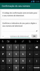 Wiko Darkmoon - Aplicações - Como configurar o WhatsApp -  6