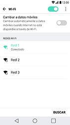 LG K10 (2017) - WiFi - Conectarse a una red WiFi - Paso 8