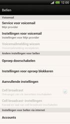 HTC S728e One X Plus - Voicemail - handmatig instellen - Stap 5