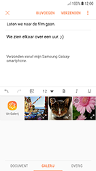 Samsung galaxy-a5-2017-android-oreo - E-mail - Bericht met attachment versturen - Stap 14