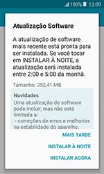 Samsung Galaxy J1 - Funções básicas - Como atualizar o software do seu aparelho - Etapa 7