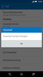 HTC One M9 - Voicemail - Manual configuration - Step 10