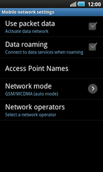 Samsung I9000 Galaxy S - Internet - Enable or disable - Step 6