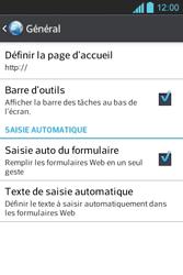 LG E610 Optimus L5 - Internet - Configuration manuelle - Étape 20