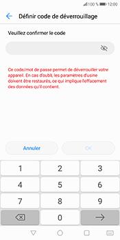 Huawei P Smart - Sécuriser votre mobile - Activer le code de verrouillage - Étape 10