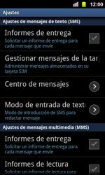Samsung I8160 Galaxy Ace II - Mensajería - Configurar el equipo para mensajes de texto - Paso 4