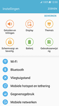 Samsung Galaxy J7 (2016) (J710) - Mms - Handmatig instellen - Stap 4