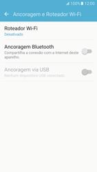 Samsung Galaxy S7 - Wi-Fi - Como usar seu aparelho como um roteador de rede wi-fi - Etapa 5