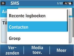 Samsung C3500 Chat 350 - MMS - hoe te versturen - Stap 5