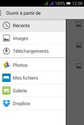 Alcatel Pixi 3 Dual Sim - E-mails - Envoyer un e-mail - Étape 14