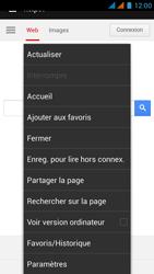 Wiko Rainbow - Internet - Navigation sur Internet - Étape 7
