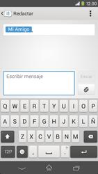 Sony Xperia M2 - Mensajería - Escribir y enviar un mensaje multimedia - Paso 10