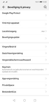 Huawei Mate 20 - Beveiliging - stel in of wijzig pincode voor je toestel - Stap 4