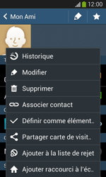 Samsung Galaxy Ace 3 - Contact, Appels, SMS/MMS - Ajouter un contact - Étape 10