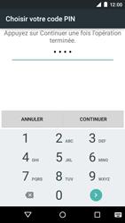Motorola Moto E (1st Gen) (Lollipop) - Sécuriser votre mobile - Activer le code de verrouillage - Étape 8