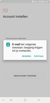 Samsung Galaxy A7 (2018) - E-mail - handmatig instellen (outlook) - Stap 5