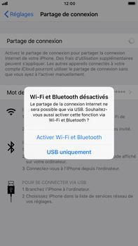 Apple iPhone 7 Plus - iOS 11 - Internet et connexion - Partager votre connexion en Wi-Fi - Étape 7