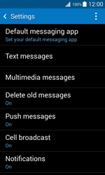 Samsung G318H Galaxy Trend 2 Lite - SMS - Manual configuration - Step 6