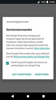 Sony Xperia XA2 Ultra - Applicaties - Account instellen - Stap 18