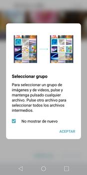 LG G6 - Bluetooth - Transferir archivos a través de Bluetooth - Paso 6