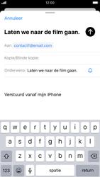 Apple iphone-7-met-ios-13-model-a1778 - E-mail - Hoe te versturen - Stap 7
