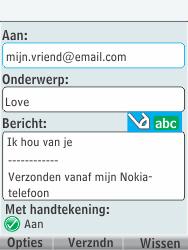 Nokia 301-1 - E-mail - Hoe te versturen - Stap 12
