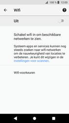 Sony Xperia XZ1 - WiFi en Bluetooth - Handmatig instellen - Stap 6