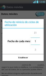 LG Optimus L5 II - Internet - Ver uso de datos - Paso 7