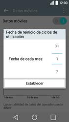 LG Leon - Internet - Ver uso de datos - Paso 7