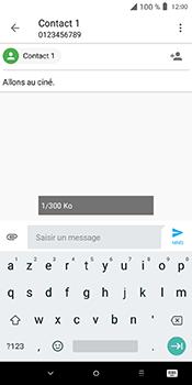 Alcatel 3L - Contact, Appels, SMS/MMS - Envoyer un MMS - Étape 13