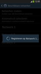 Samsung I9505 Galaxy S IV LTE - Netwerk - Handmatig een netwerk selecteren - Stap 9