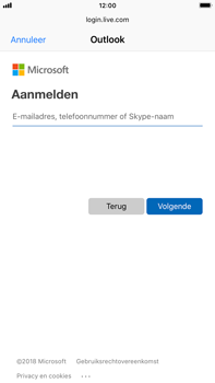 Apple iPhone 6 Plus - iOS 12 - E-mail - Handmatig instellen (outlook) - Stap 6