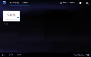 Huawei Mediapad S7-301u - Internet - Internet browsing - Step 7