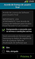 Samsung Galaxy Grand Neo - Primeiros passos - Como ativar seu aparelho - Etapa 7