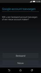 HTC Desire 816 4G (A5) - Applicaties - Account aanmaken - Stap 4