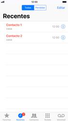 Apple iPhone 7 - iOS 12 - Chamadas - Como bloquear chamadas de um número -  4