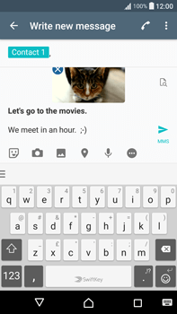 Sony F3211 Xperia XA Ultra - Mms - Sending a picture message - Step 16