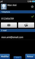 Samsung Wave 2 - Contact, Appels, SMS/MMS - Ajouter un contact - Étape 13