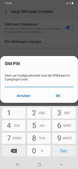 Samsung galaxy-a50-dual-sim-sm-a505fn - Beveiliging en ouderlijk toezicht - Hoe wijzig ik mijn SIM PIN-code - Stap 9