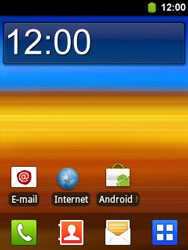 Samsung S5360 Galaxy Y - Email - Sending an email message - Step 1